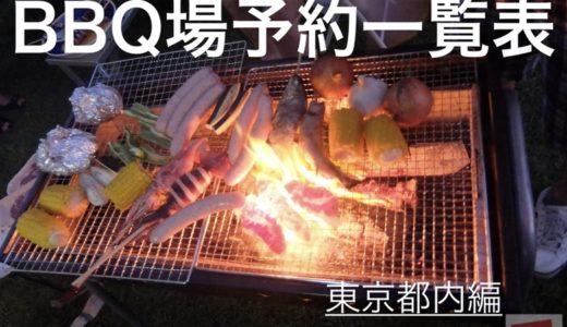 【BBQ場予約一覧表】東京都内にあるBBQ場の予約方法をまとめました!