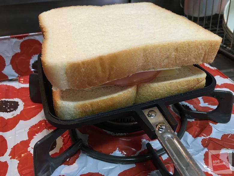 チャムス サンドイッチクッカー 12