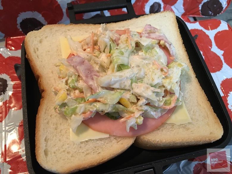チャムス サンドイッチクッカー 11
