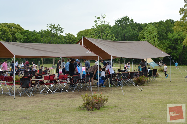 舎人公園BBQ場 35