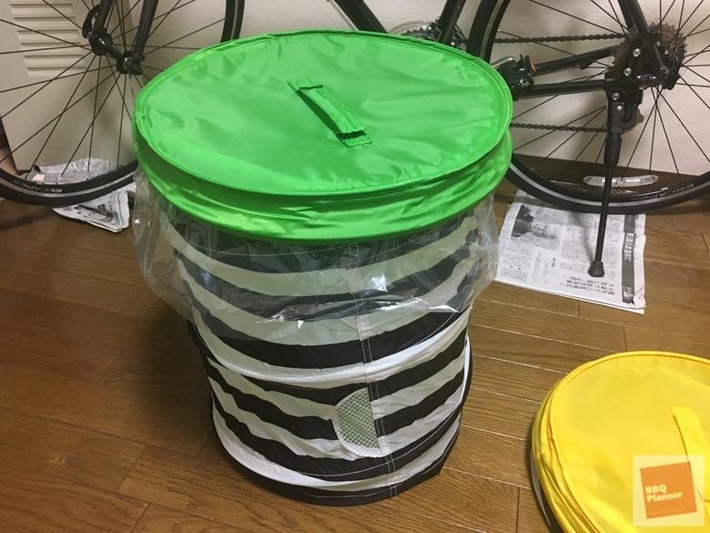 BBQ用のゴミ箱 6