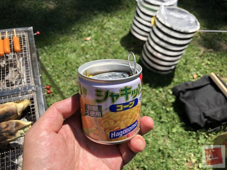 コーンバター缶 2