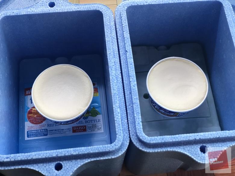 保冷剤比較実験 23
