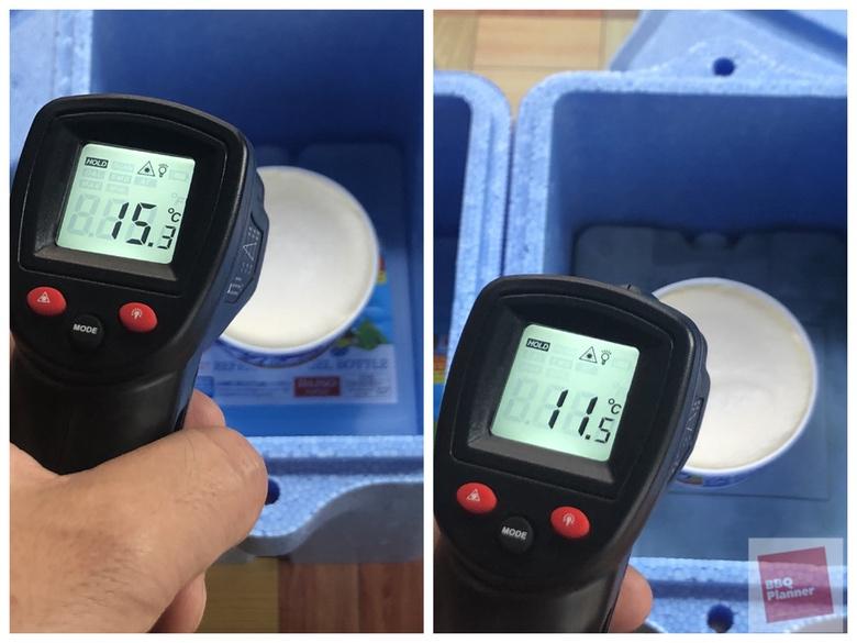 保冷剤比較実験 25
