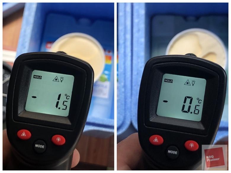 保冷剤比較実験 10