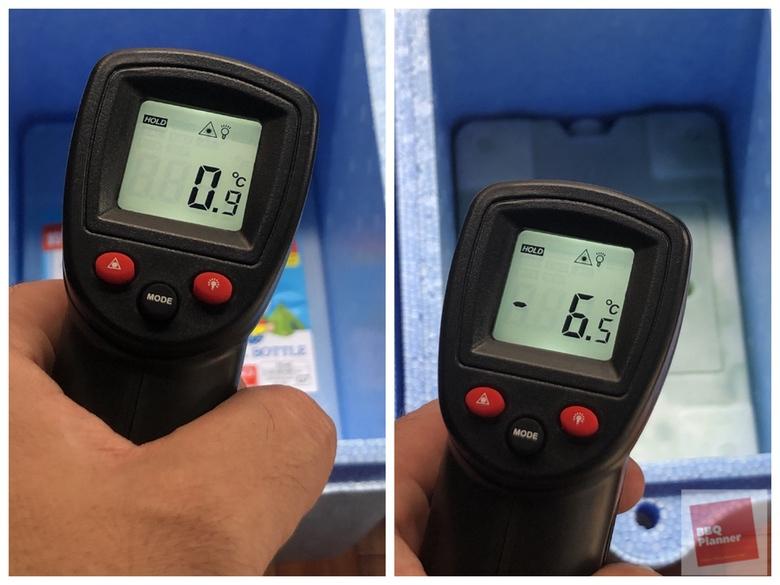 保冷剤比較実験 18