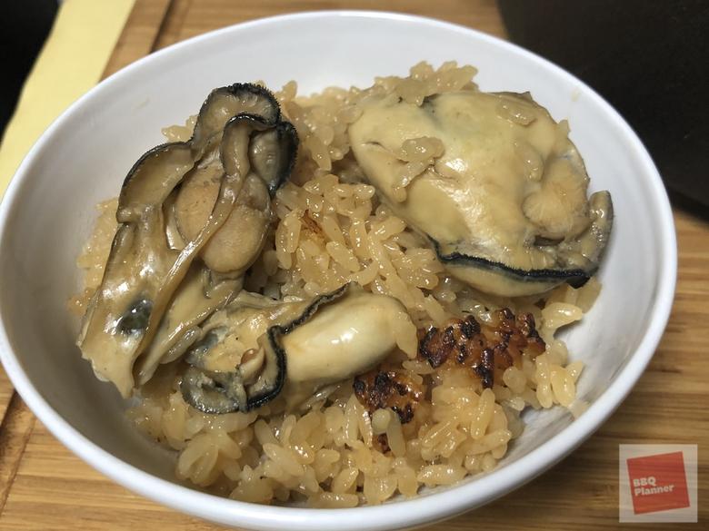 ダッチオーブンで牡蠣飯 12