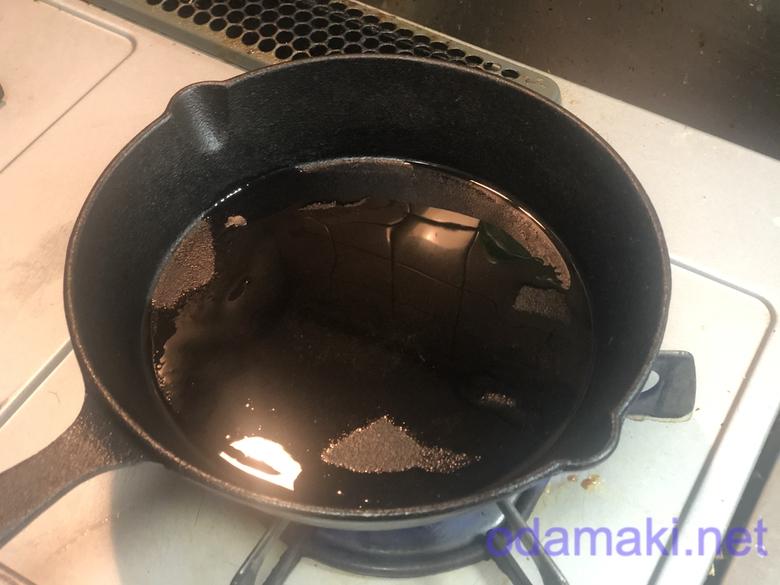 スキレットで簡単すき焼き 4