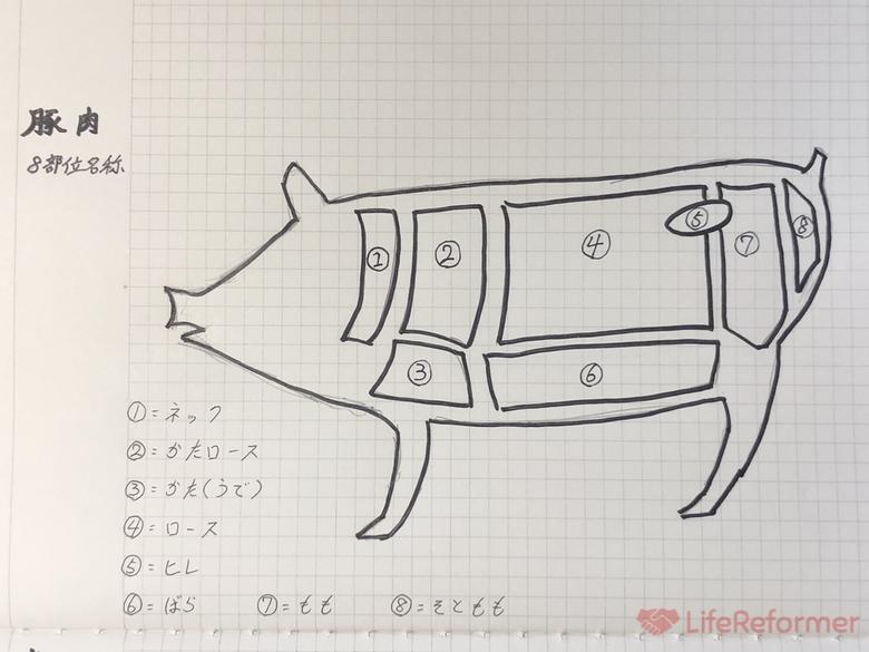 お肉検定勉強方法と時間 5